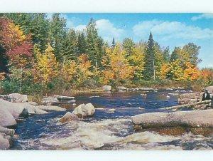 Pre-1980 RIVER SCENE Bathurst New Brunswick NB AE5491