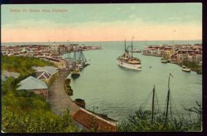 curacao, D.W.I., SANTA ANA, Bahia Harbor, Steamer (1910s)