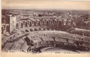 Les Arenes Et La Ville, ARLES (Bouches du Rhone), France, 1900-1910s