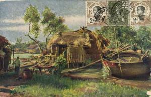 CPA Vietnam Indochine COCHINCHINE - Bords d'Arroyo (60841)