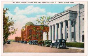 El Kahir Shrine Temple, Cedar Rapids Iowa