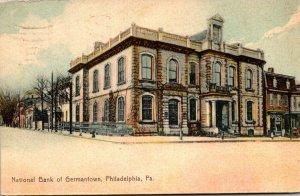 Pennsylvania Philadelphia National Bank Of Germantown 1909