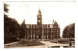City Hall, Halifax, Nova Scotia, Used 1935