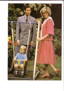 Prince Charlies, Princess Diana, Prince William