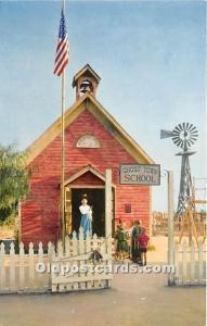 Knott's Berry Farm, Ghost Town, California, CA, USA Postcard The Little ...