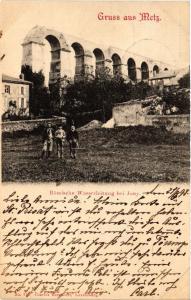 CPA Gruss aus Metz Romische Wasserleitung bei Jouy (393238)