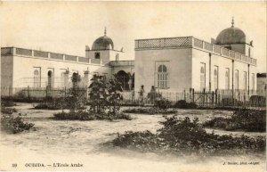 CPA AK Geiser 59 Oudjda L'École Arabe MAROC (755708)