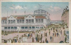 ASBURY PARK, New Jersey, 1915; Scene on the Boardwalk