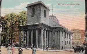 Massachusetts Boston King's Chapel