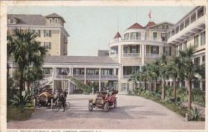 Florida Ormond South Entrance Hotel Ormond 1913 Detroit Publishing