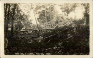 Hancock NH 1928 Tornado damage Real Photo Postcard