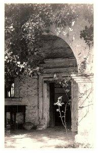 San Carlos Mission Cppr California Entrée Voie Archway Carte Postale