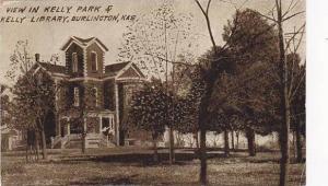 View in Kelly Park,Kelly Library,Burlington,Kansas,00-10s