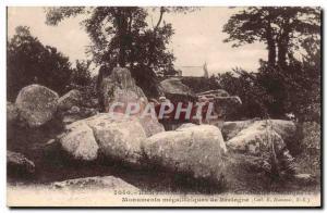 Old Postcard Dolmen Megalith Kertugal