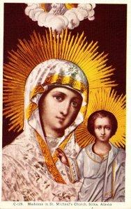 Alaska Sitka Madonna In St Michael's Church