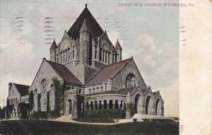 Christ M. E. Church, Pittsburg, Pennsylvania, PU-1908