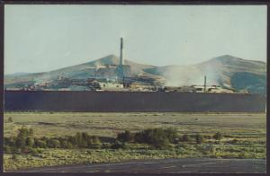 Anaconda Compnay's Smelter,Anaconda,MT Postcard