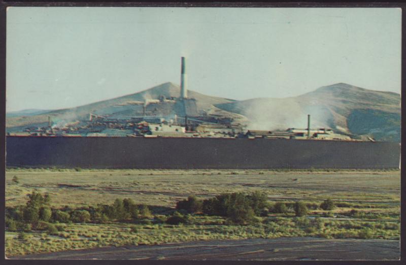 Anaconda Compnay's Smelter,Anaconda,MT Postcard