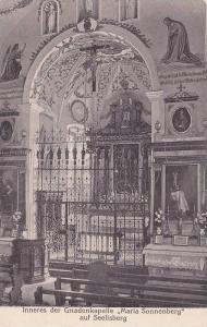 Inneres Der Gnadenkapelle Maria Sonnenberg Auf Seelisberg, Uri, Switzerland...