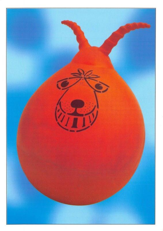 Robert Opie Postcard Game Series - Spacehopper D89