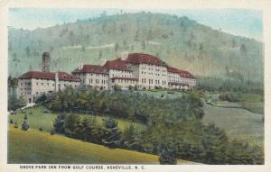 ASHEVILLE, North Carolina, 00-10s; Grove Park Inn From Golf Course