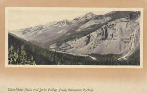 FIELD, British Columbia, Canada, PU-1915; Takakkaw Falls and Yoho Valley, Can...