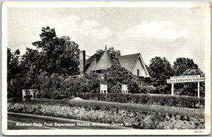 Mountain Grove, MO Postcard Missouri State Fruit Experiment Station c1940s