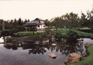 Canada Authentic Japanese Garden In Lethbridge Alberta