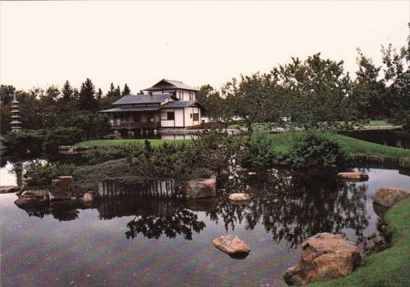 Canada Authentic Japanese Garden In Lethbridge Alberta