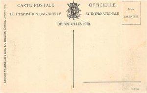 Exposition de Bruxelles Hansa Haus World's Fair Brussels Vintage Postcard 1910