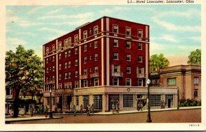 Ohio Lancaster Hotel Lancaster Curteich