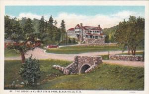 South Dakota Black Hills The Lodge In Custer State Park Curteich