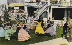 Colorado Central City Square Dancers During Summer Play Festival