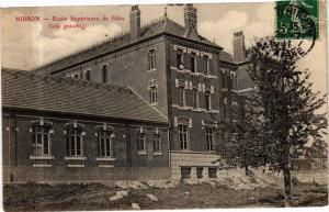 CPA HIRSON Ecole Superieure de filles (aile gauche) (280370)