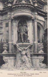 FECAMP, France, 1910-1920s,  Statue elevee a la memoire de lagrand