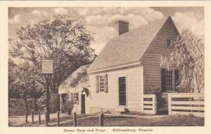 Virginia Williamsburg Deane Shop and Forge Albertype