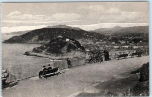 SAN SEBASTIAN, (Donostia)  Spain   TERRAZA del MONTE IGUELDO  c1910s Postcard