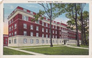 Exterior, Methodist Hospital, Memphis, Tennessee,  PU-1948