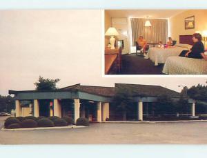Unused Pre-1980 QUALITY INN MOTEL Florence South Carolina SC hs8610