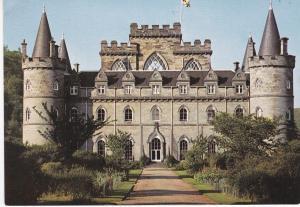 Post Card Scotland Argyll and Bute Inveraray Castle