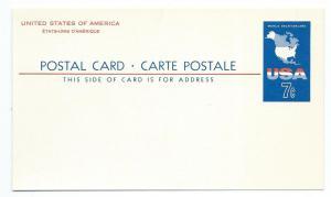 USA Postal card
