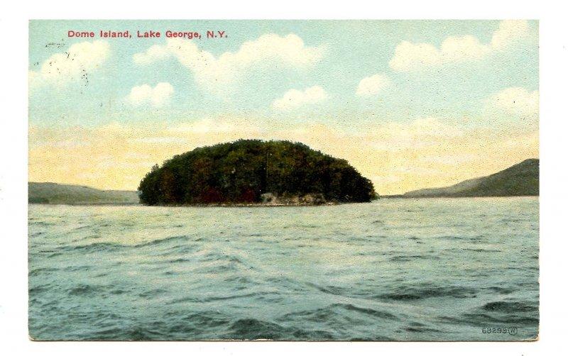 NY - Lake George. Dome Island