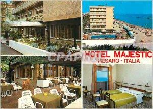 Postcard Modern Hotel Majetic Pesaro Italia