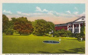 HARTSVILLE , South Carolina , 1910-30s ; Open Air Theatre , Coker College