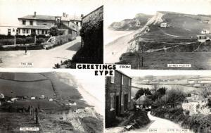 Vintage Real Photo Multi View Postcard, Greetings from EYPE, Dorset 38V
