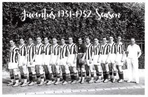 Football Soccer Italian Italy Postcard, Juventus Team Photo 1931-1932 Season 20F