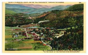 Quincy, Plumas County, CA Postcard *5N21