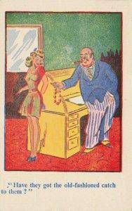 Comic Postcard Garland, Rudolf & Co. W129, Seaside Joke, Humour KJ0