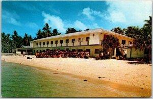 1960s MARSHALL ISLANDS Postcard MARSHALL CHRISTIAN HIGH SCHOOL RongRong Island
