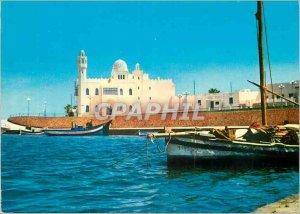 Postcard Modern Tunisia Monastir Boat